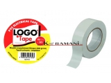 PVC Electrical insulating tape LOGO 19mmx20Y White