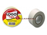 PVC Electrical insulating tape LOGO 48mmx20Y White