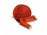 Incombustible silicone cable Ø 10 mm